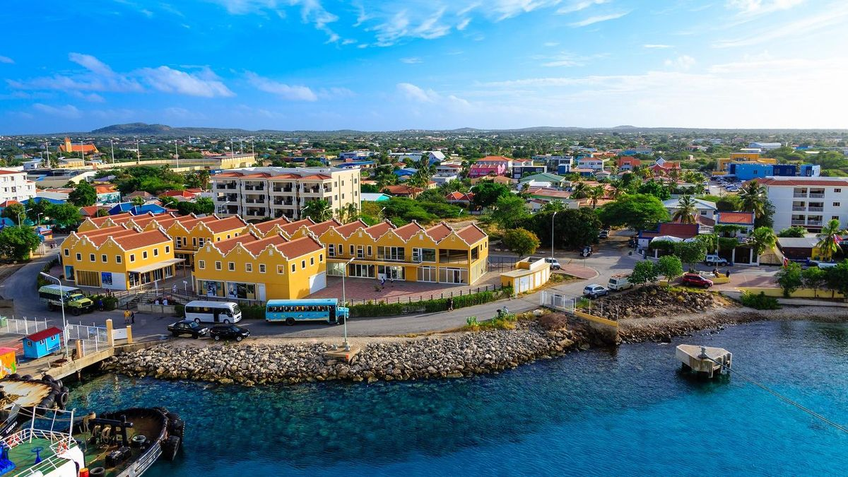 Bonaire, antilles, architecture, blue, boat, capital, caribbean, city, coast, colorful, destination, harbor, holiday, island, marina, netherlands, ocean, port, sea, tourism, tourists, tropical, vacation, water, waterfront