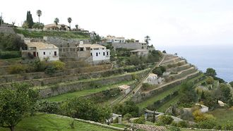 heritage/Horizontal/GENERAL VIEW/HIGH ANGLE/VILLAGE/TOURISM/STONE/ARCHITECTURE/WALL